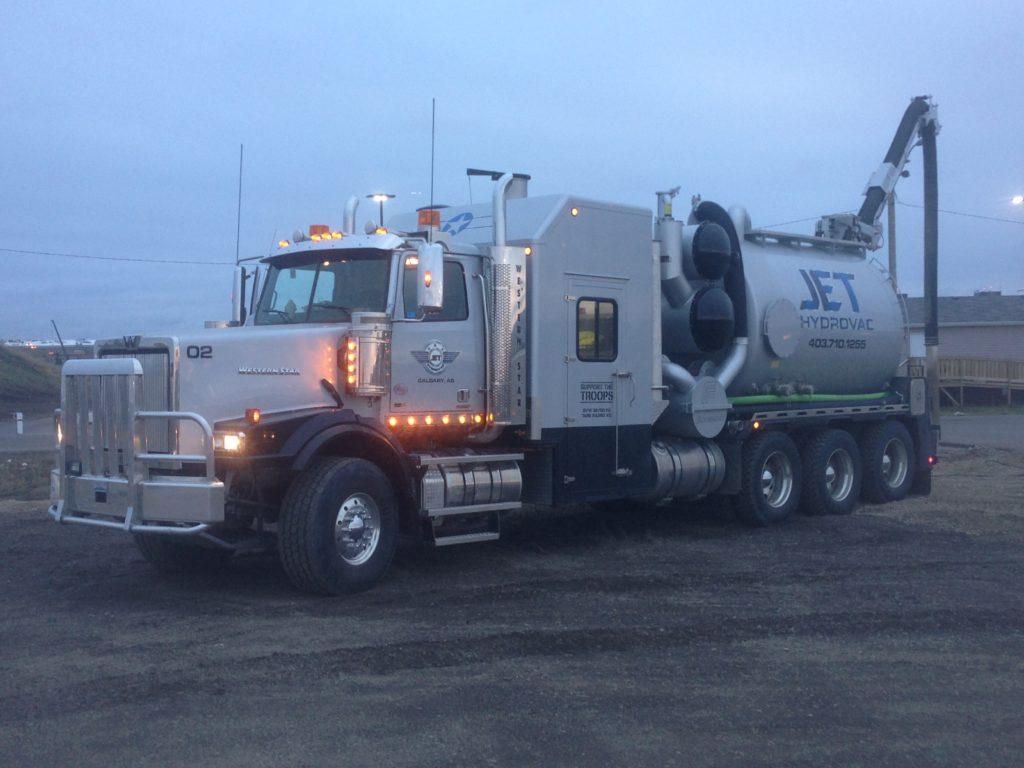calgary hydrovac companies Jet Hydrovac